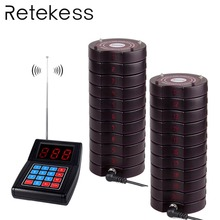 999 channel Wireless Paging Queuing Calling System with 1 Transmitter + 20 Coaster Pagers Restaurant Equipment Y4474