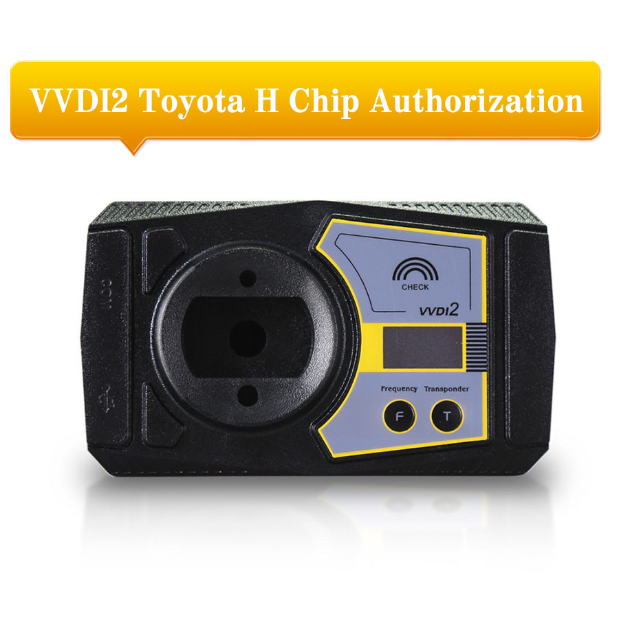 Xhorse VVDI2 Prepare For Toyota H Chip Activation Authorization