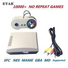 Retro wbudowany 10000 + bez powtórzeń gry konsola do gier Mini klasyczne przenośne wideo telewizyjne odtwarzacz gier podwójne gamepady zapisz postęp tanie tanio NoEnName_Null CN (pochodzenie) Wtyczka amerykańska AN05-2