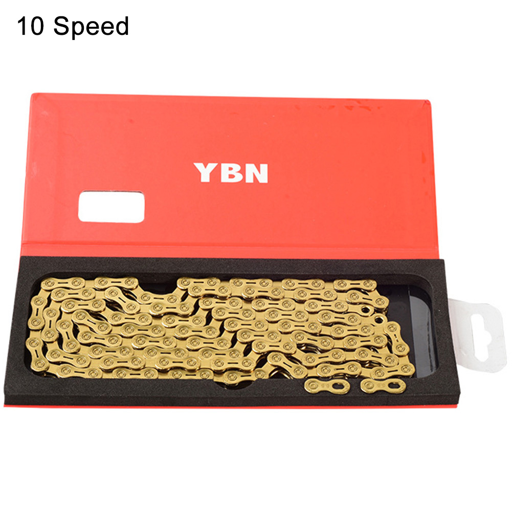 10 11 Speeds Road Bike Cycling Outdoor Bicycle Chain Connector Metal Semi Hollowed Gold Quick Release Repair Tool For Shimano|  - title=