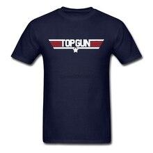 Новая крутая футболка Maverick Top Gun T рубашка большого размера пользовательские мужские футболки с коротким рукавом модная Хлопковая мужская футболка с круглым вырезом