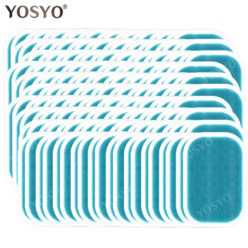 15/30/50/100Pair Replacement Gel Pads For EMS Trainer Weight Loss Abdominal Muscle Stimulator Exerci