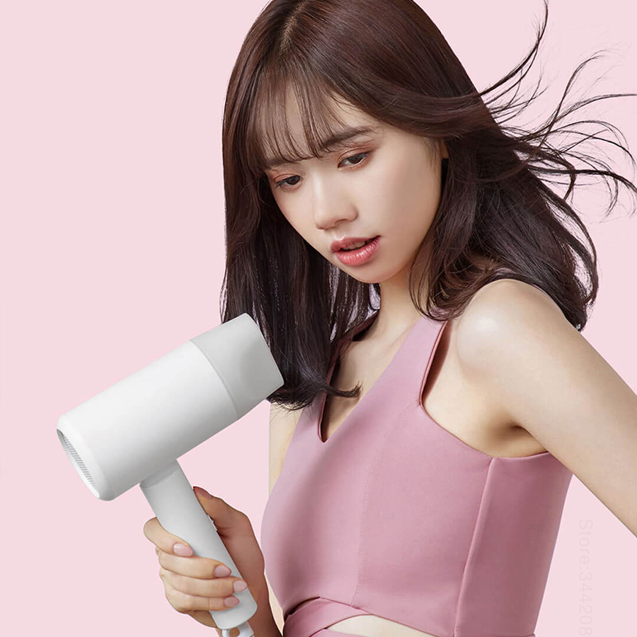 Image 4 - 2019 New XIAOMI MIJIA Portable Anion Hair Dryer Professinal Quick Dry 1600W Travel Foldable Hairdryer Nanoe Water ion Hair CareHair Dryers   -