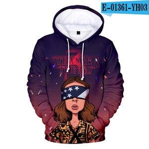 Image 5 - คนแปลกหน้า hoodie 3D ล่าสุดพิมพ์ Leisure ฤดูใบไม้ผลิฤดูใบไม้ร่วงชายเสื้อกันหนาวผู้หญิง Hoodies Harajuku Hip Hop Streetwear
