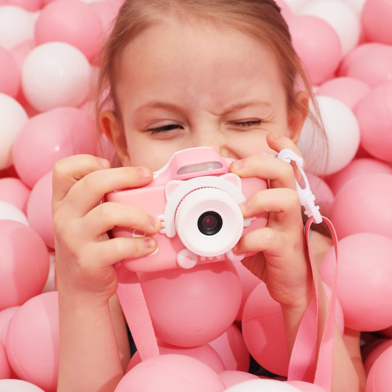 Children Mini Camera Kids Educational Toys For Children Baby Gifts Birthday Gift Digital Camera 2400P Projection Video Camera