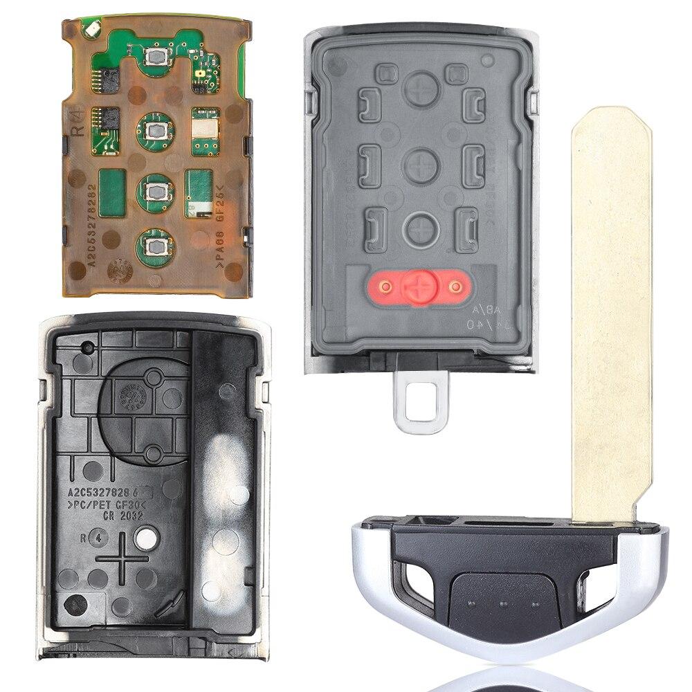 KEYECU замена Смарт пульт дистанционного ключа 4 кнопки 313,8 МГц для Acura ZDX 2010 2013, TL 2009 2010 2011 2012 FCC ID: M3N5WY8145 - 5