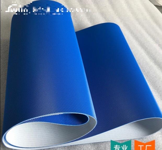 (Может быть изготовлен на заказ)  3000x300x22 мм ПВХ Синяя Промышленная