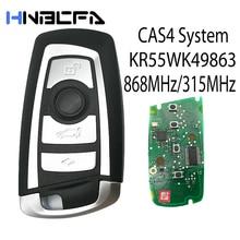 4 кнопки автомобиль пульт управление ключ для BMW 3 5 7 Series 2009-2016 CAS4 F System Fob KR55WK49863 pcf7945 315 МГц +% 2F868MHz