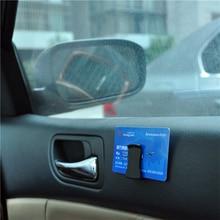 Hook-Clamp Car-Clip-Holder Console-Dashboard Sun-Visor Multifunctional Sticker Sunglasses