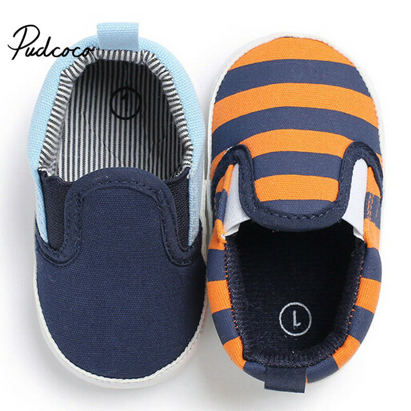 2020 Newborn Shoes Infant Baby Girls Boys Soft Prewalker Casual Flats Cotton Sneakers Shoes Fashion Causal First Walkers