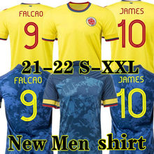 2020 camisa masculina camisa de futbol camisa 20 21 22 falcao james colombiaes camisas