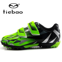 TIEBAO erkekler futbol kramponları TF çim futbol ayakkabıları çocuklar Cleats eğitim futbol ayakkabısı spor ayakkabılar boyutu 25-32 Chuteira Futebol