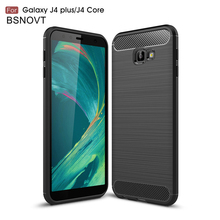 For Samsung Galaxy J4 Plus Case Soft Silicone Anti-knock Cover BSNOVT