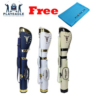 Retractable height PLAYEAGLE Golf Gun Bag Contain Half Set Golf Clubs Nylon Golf Stand Bags