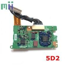 Ikinci el 5D2 5DII elektrik panosu üst DC/DC PCB Canon 5D Mark II Mark 2 Mark II Mark2 kamera yedek parça