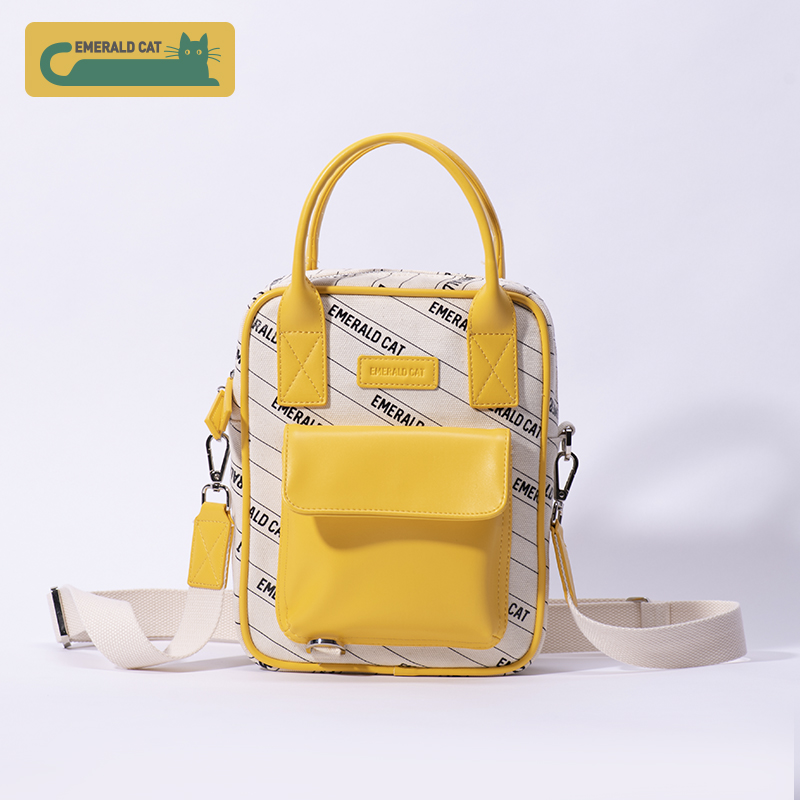 2019 Emerald Cat Fashion Women Messenger Bag  Female Shoulder Bag Lady Handbag Tote  Crossbody Bags For Canvas Bag