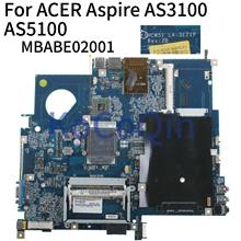 KoCoQin laptop Motherboard Für ACER Aspire 5100 3100 5110 5510 AS3100 AS5100 Mainboard HCW51 LA-3121P MBABE02001