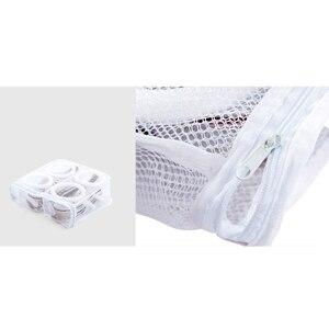 Сетчатый мешок для мытья, подвесной мешок для обуви, машинная Чистка, мешок для стирки обуви, специальный чехол для ухода за обувью, сумка-Органайзер для дома