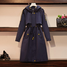 Fp343 2019 new autumn winter women fashion casual Ladies nice Trench Big Plus si