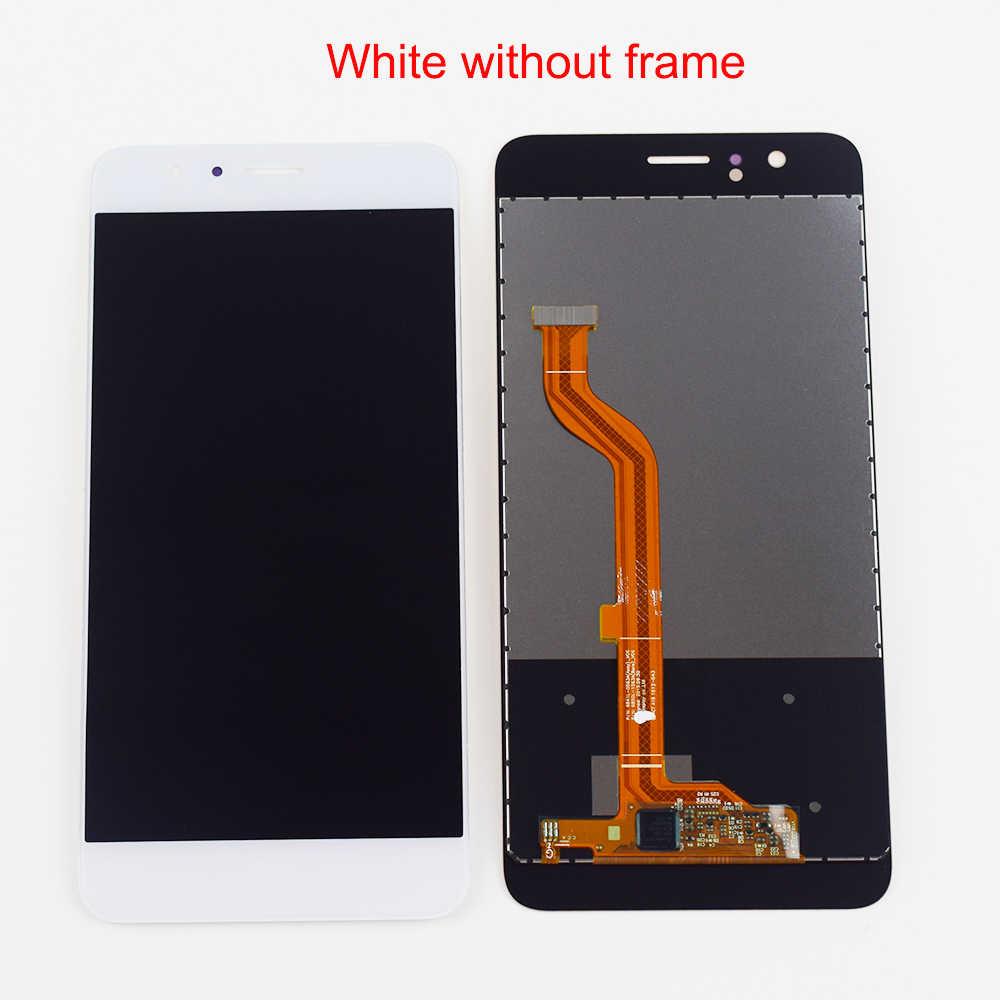 Huawei 社の名誉 8 FRD-L19 FRD-L09 Lcd の表示画面モジュールパネル新 P20 プロセンサーガラスデジタイザーアセンブリフレーム