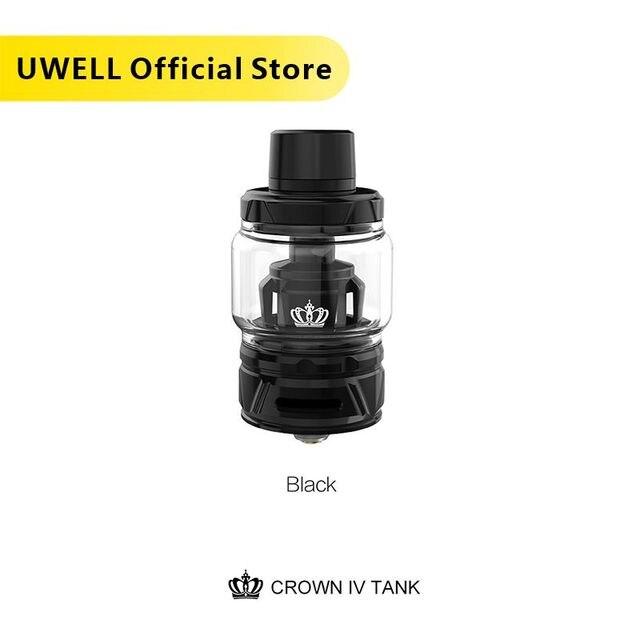 Бак UWELL Crown IV Crown 4 с двойной катушкой SS904L и технологией самоочистки, атомайзер 2 мл/6 мл, испаритель для электронной сигареты