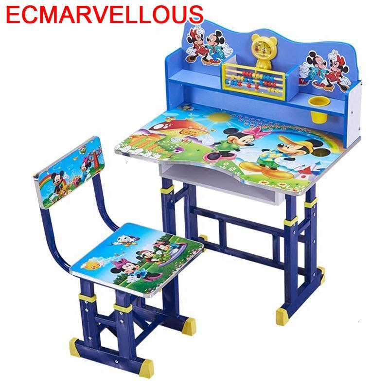 Scrivania Bambini Kindertisch Children Mesinha Play And Chair Adjustable Kinder Bureau Enfant Mesa Infantil Kids Study Table