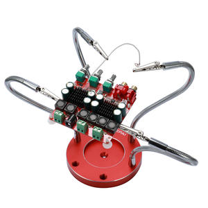Circuit-Board Welding with 4pcs Flexible-Arms for Auxiliary-Tools Soldering-Helping-Hands