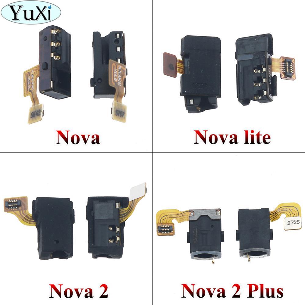 YuXi Earphone Jack Audio Headphone Flex Cable For Huawei Nova / Nova lite / Nova 2 / Nova 2 plus Mobile Phone Parts Replacement