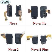 YuXi Earphone Jack Audio Headphone Flex Cable For Huawei Nova / Nova lite / Nova 2 / Nova 2 plus