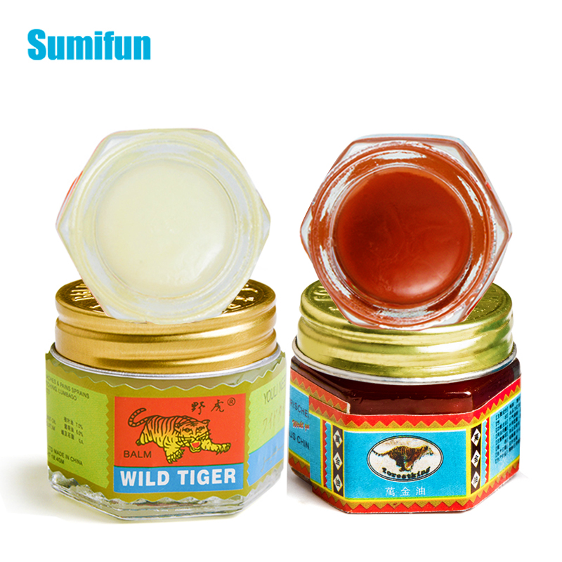 Tiger Balm Ointment For Arthritis Rheumatism Joint Muscle Rub Aches Pain Relief Analgesic Cream Cool Oil Anti-itching P0064
