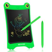 Graphic Tablet NEWYES Drawing Electronic-Board Digital Children LCD with Stylus-Battery