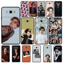 Yinuoda American TV Riverdale Series Cole Sprouse Cover Shell Phone Case For GALAXY s6 edge edge plus s7 edge s8 plus s9 plus(China)