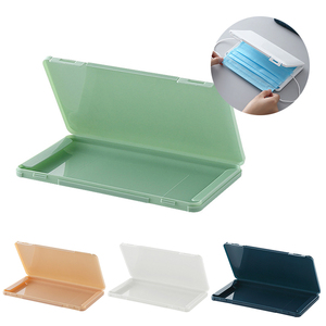 Fashion Mask Cover Case Dust-proof Mask Folder Container Foldable Face Masks Storage Box Case Portable Save Mask Boxes Organizer
