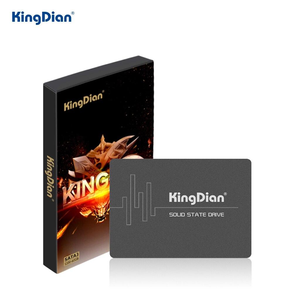 KingDian 120GB 1 to 2.5 SATAIII SSD 240GB 480GB SATA3 SSD HDD disque dur à semi-conducteurs interne pour PC de bureau portable