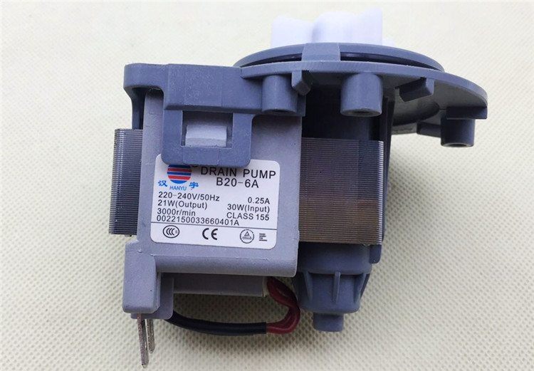 100% New For Washing Machine Original Parts B20-6 B20-6A = DC31-00030A PSB-1 30w Drain Pump Motor Good Working