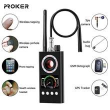 Détecteur de Signal RF sans fil Anti-espion, GPS GSM, caméra cachée, dispositif d'écoute, Version professionnelle militaire K68