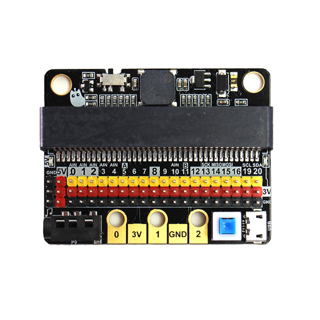 1pcs Microbit IOBIT V1.0 V2.0 Development Board Expansion Board STEM Educational Toy Accessories Drop Shipping