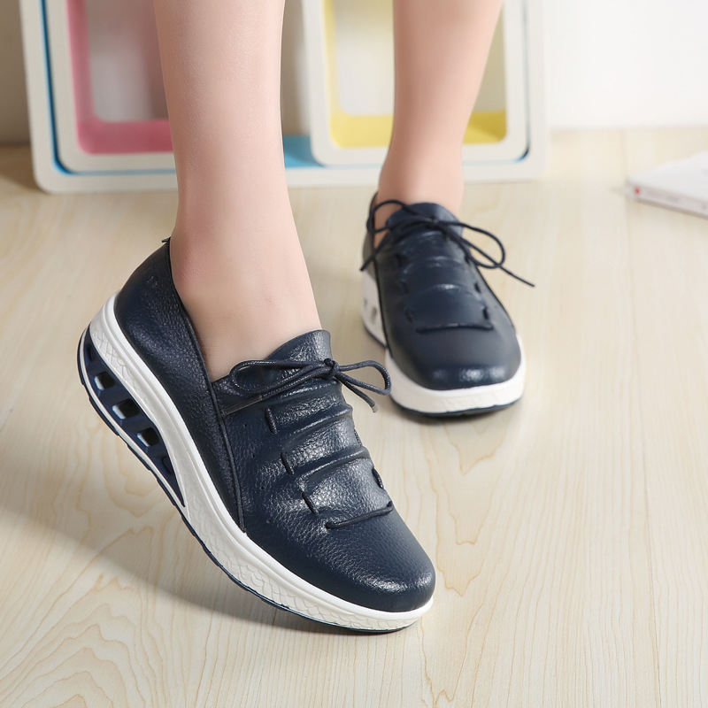 Best Price #1964 2019 Spring Women Platform Sneakers Shoes