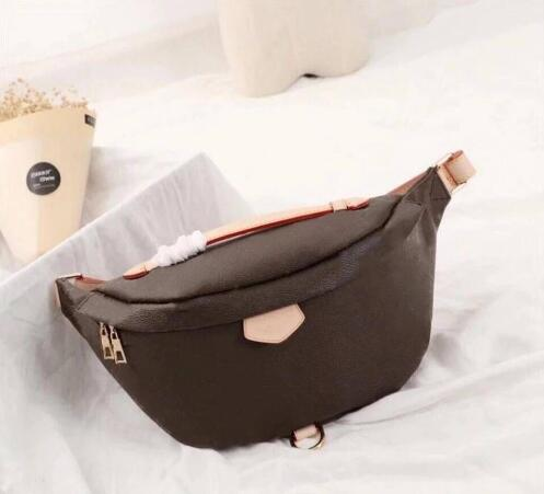 Woxk Fashion Brand Famous Bag Designer Neverful Single Genuine Leather Women Belt Bag Free Shipping