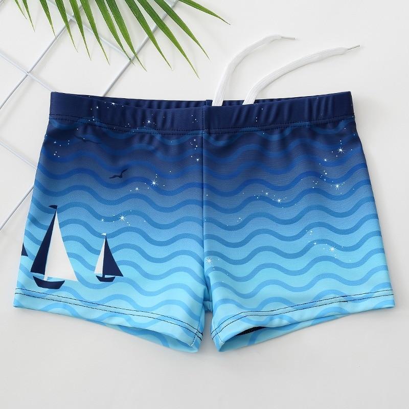 CHILDREN'S Swimming Trunks BOY'S Big Boy Boxer Swimming Trunks Baby Boy Hot Springs Beach Swimsuit Small Tong Tao Equipment