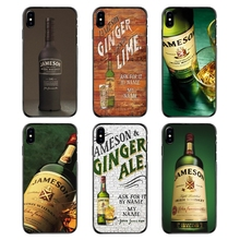 Para iPhone 4 4S 5 5S 5C SE 6 6S 7 7 Plus X XR XS Max cubiertas del teléfono cartel de la edición limitada del whisky irlandés de Jameson