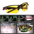 Автомобильные антибликовые очки ночного видения для водителей аксессуар для салона Защитное снаряжение солнцезащитные очки ночного виден...