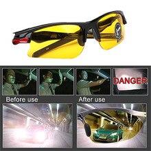 Carro anti-brilho visão noturna drivers óculos de proteção interior acessório engrenagens de proteção óculos de sol óculos de visão noturna óculos de condução