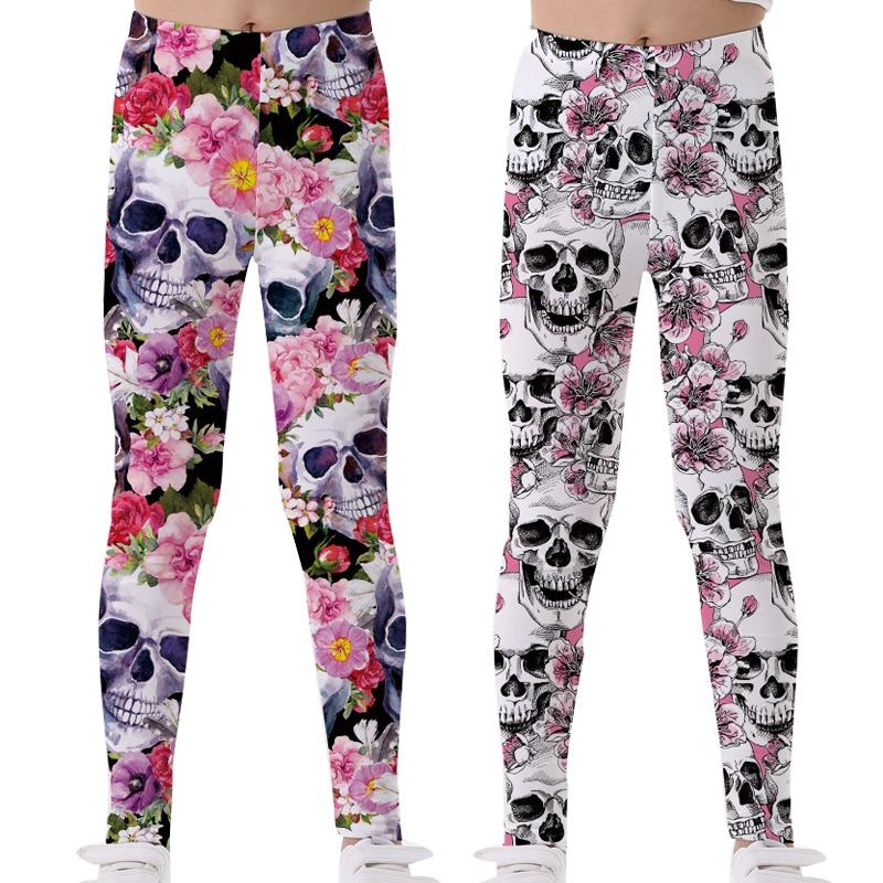 Wanita Celana Legging Untuk Anak Anak Cetak 3d Printing Skeleton Flamingo Anak Remaja Celana Yoga Celana Gadis Pakaian Celana Aliexpress