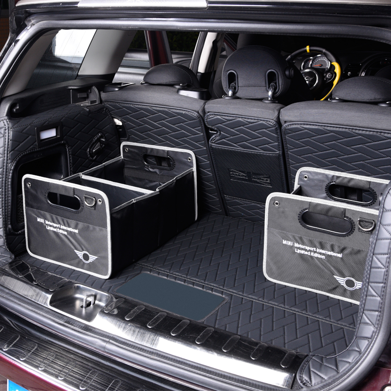 Folding Car Trunk Storage Bag For BMW MINI Cooper S F54 F56 F60 R60 R56 R55 Stowing Tidying Bag Organizer Storage Box Container