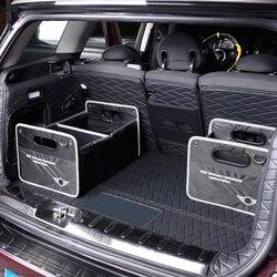 Składane torba do przechowywania do bagażnika dla BMW MINI Cooper S F54 F56 F60 R60 R56 R55 rozmieszczenie Tidying torba organizator pudełko do przechowywania pojemnik