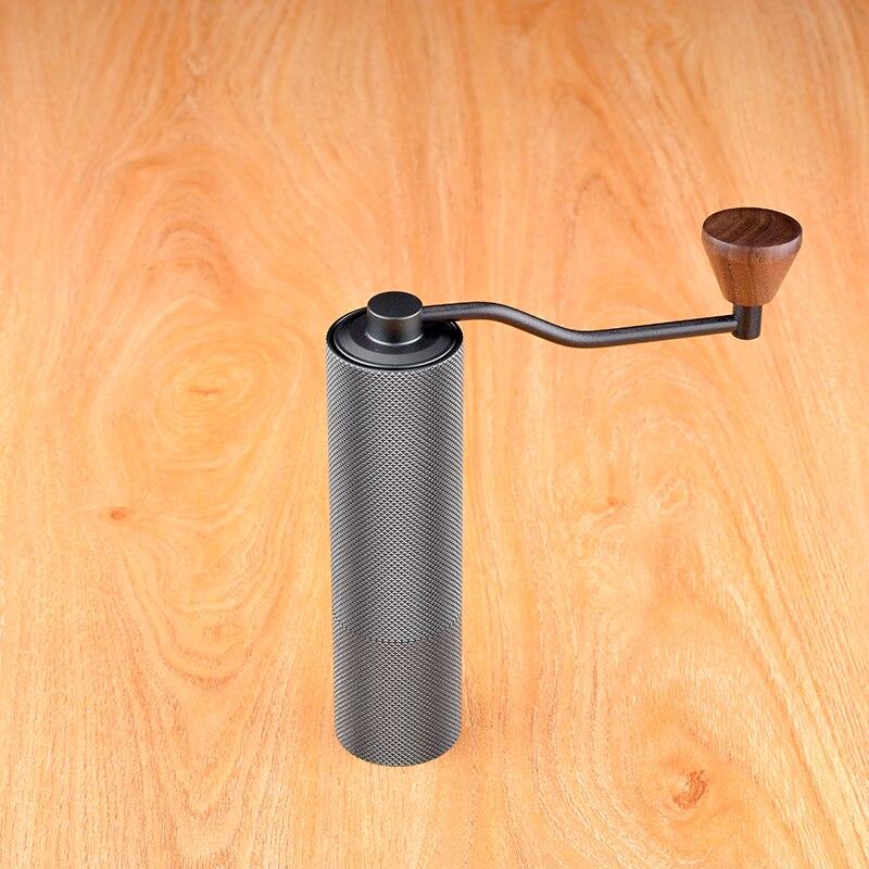 Timore castanha magro de alta qualidade manual moedor café 45mm alumínio miller 20g mini máquina trituração café