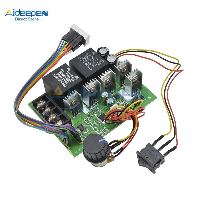 DC 10-50V 40A PWM Speed Controller DC Motor Controller LED Digital Display 0-100% Einstellbare Stick modul 12 V/24 V/36 V/48 V
