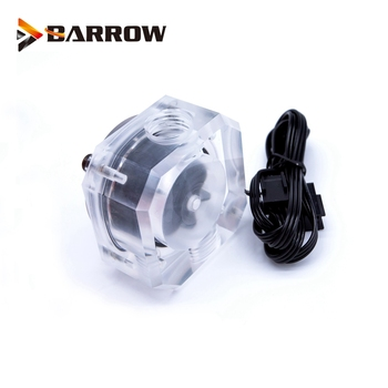 цена на BARROW Water Flow Velocity Meter ( Electronic Data sensor ) SLF - V3 Water Cooler System Transparent Filter Flow meter