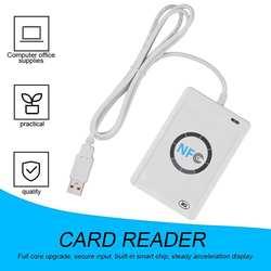 RFID считыватель смарт-карт Писатель Копир Дубликатор записываемый клон программное обеспечение USB S50 13,56 МГц ISO/IEC18092 + 5 шт. M1 карты NFC ACR122U